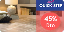 Tarimas Quick Step 50% Dto